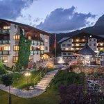 Das Vital Hotel zum Ritter by night