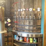 The keg barrel.