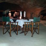 Dinner in the cave