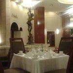 el restaurante esta muy lindo