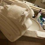 Housekeeping Towel Placement