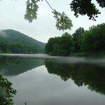 beautiful river adjoins property