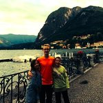 The view of Lake Como from Menaggio. Gorgeous.