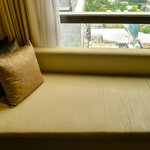 Thai Daybed in our Club Room with views over Sathorn Road