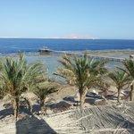 vista da piscina panoramica