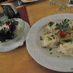 canederli ed insalata