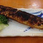 Grilled mackerel... Ummm!