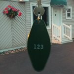 cute little key and outside of cottage