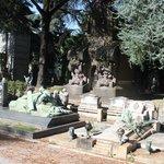 spectacular tombstones