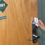 Secure Keycard Entry