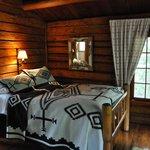 Interior of cabin 24