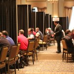 Poinsett Ballroom - ideal meeting space for a 30-booth set-up.