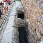 Sistema hidráulico das latrinas