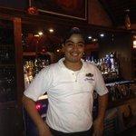 Georgee. The fantastic bartender