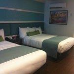 Double-queen beds