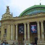 Partial view of front of Petit Palais