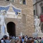 Estátuas de Davi e Hercules