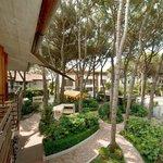 il nostro giardino fronte mare con le oasi relax dove respirare la natura