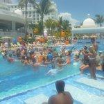 Activity pool - water balloon fight.