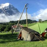 our site. with the northface of the eiger