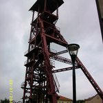 l'entrée extérieure de la mine