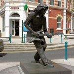 Gallagher Statue