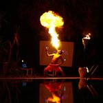 Amazing Fire Show by Animation Team
