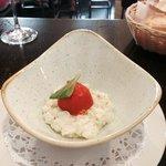 tartar de calamares y marisco ( imprescindible)