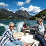Sight seeing on Lake Lugano