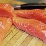 Fresh Cut Salmon Fillet