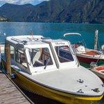 Boat at Lugano Dock