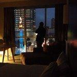 Vista desde la habitación de City Express El Ángel