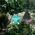 View from the Ceiba Tree Lodge
