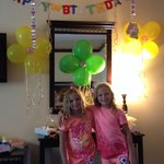 Feeling very special on their birthday!