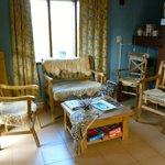 Hostel living room