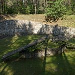 Location where many bodies were incinerated in an attempt by Nazis to cover up evidence
