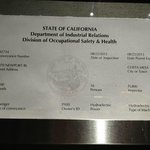 Expired Elevator Inspection!! Date of Visit = JULY 2014