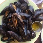 My Appetizer of mussels