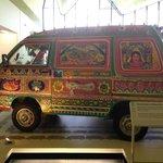 Pakistani decorated van