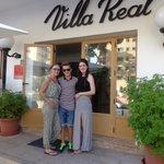 Villa Real entrance
