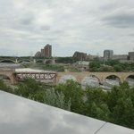 Stone Arch Bridge as seen from 5th floor - Gutherie Theater