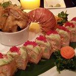 Lobster maki roll
