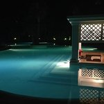 Pool bar at night - beautiful