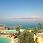 la vista sul Mar Morto