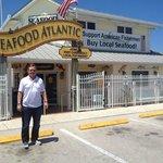 Hubby LOVED Seafood Atlantic!