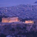Acropolis in the evening