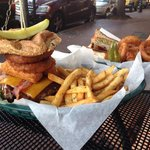 Monster Burger and California Club
