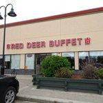 Entrance of Red Deer Buffet Restaurant