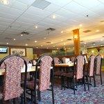 Inside setting of the restaurant