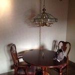 Table & light fixture